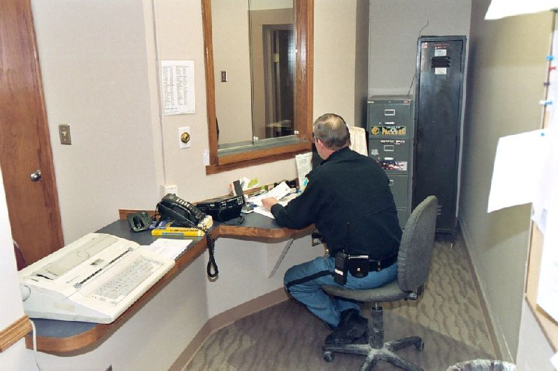 Police Station Holds Open House City Of Hancock Michigan
